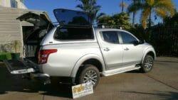 Mitsubishi MQ Triton and Trek Canopy - Sterling Silver U25 Code