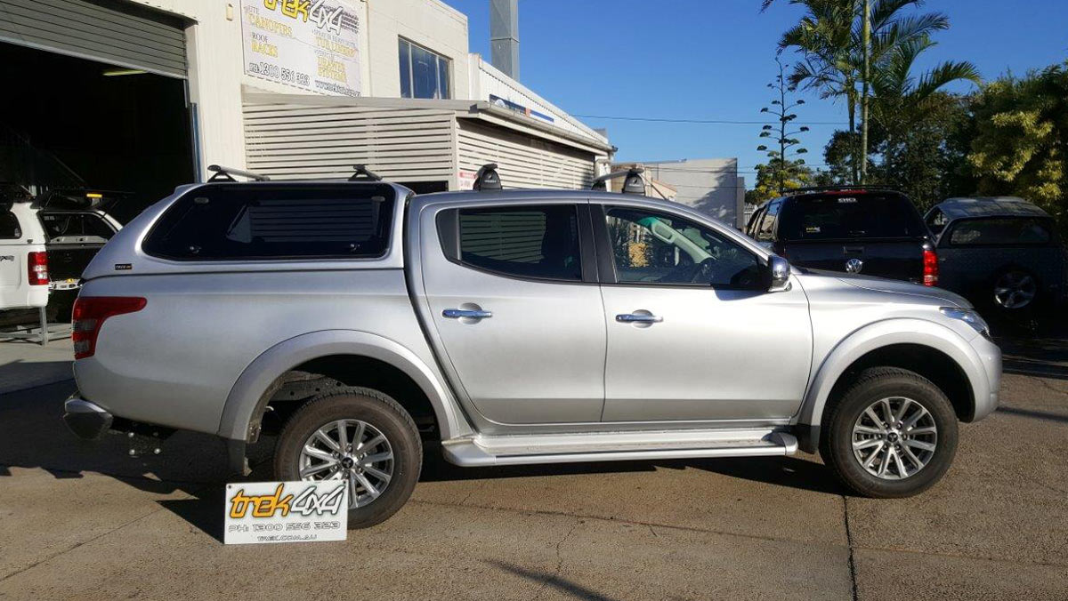 Mitsubishi MQ Triton with Trek Canopy in Sterling Silver U25 Code