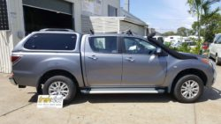 TREK Canopy on Mazda BT50 2012+ - 30B Titanium Grey