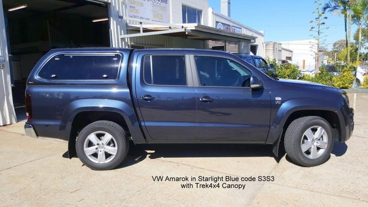 TREK Canopy on Volkswagen Amarok 2011