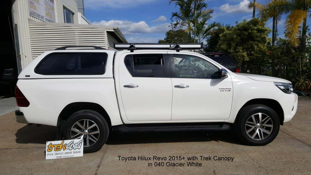 TREK canopy on Toyota Hilux