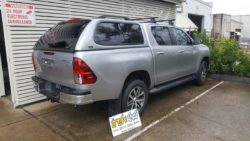 Toyota Hilux with Trek Canopy - 1D6 Silver Sky color