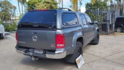VW Amarok withTrek Canopy in Natural Grey M4M4